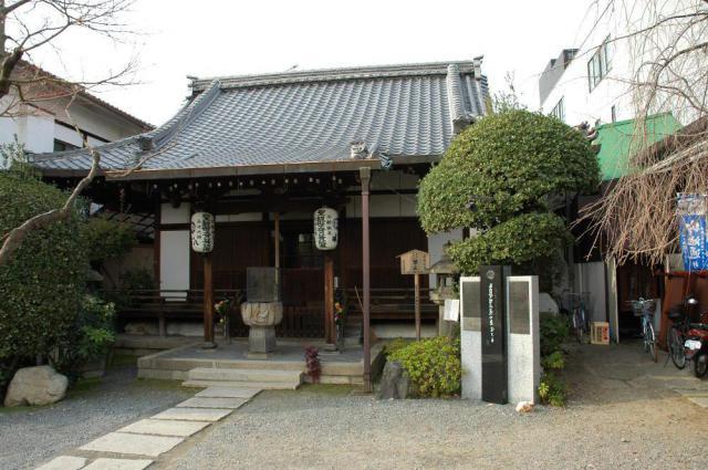 京都府神泉苑の本殿