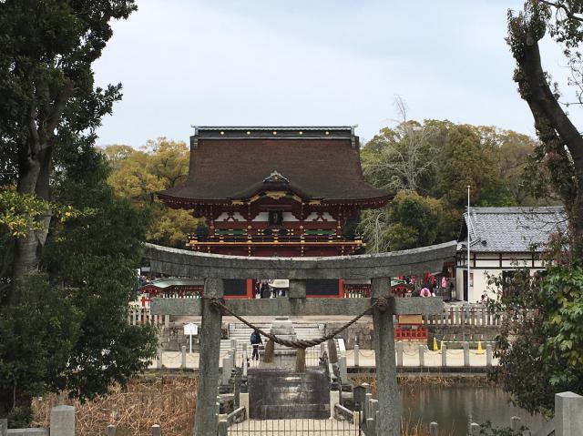 伊賀八幡宮(愛知県北岡崎駅) - 鳥居の写真
