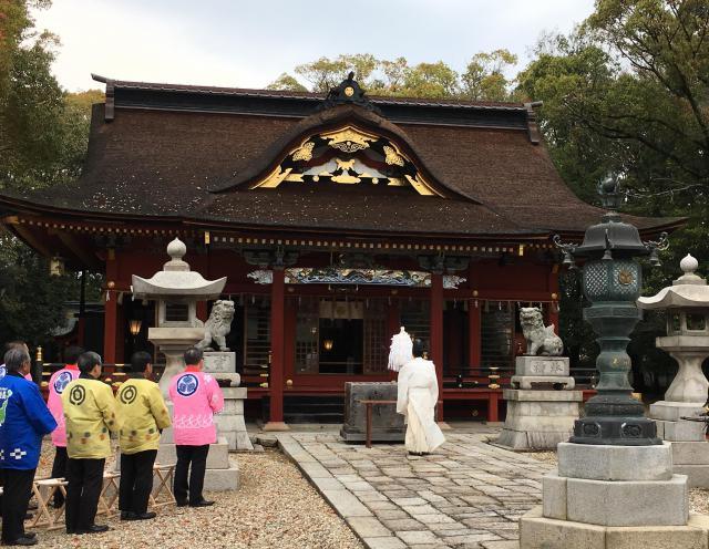 伊賀八幡宮(愛知県北岡崎駅) - お祭りの写真
