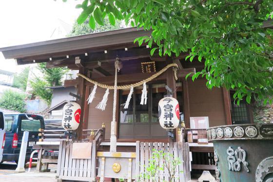 東京都今宮神社の本殿