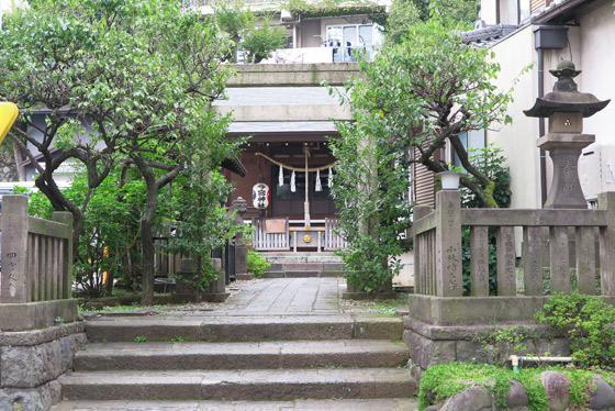 東京都今宮神社の写真
