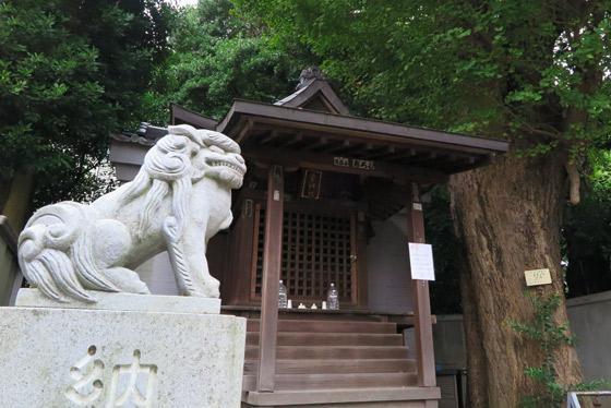 東京都幸神社の写真