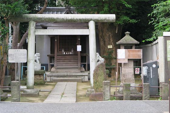 東京都幸神社の本殿