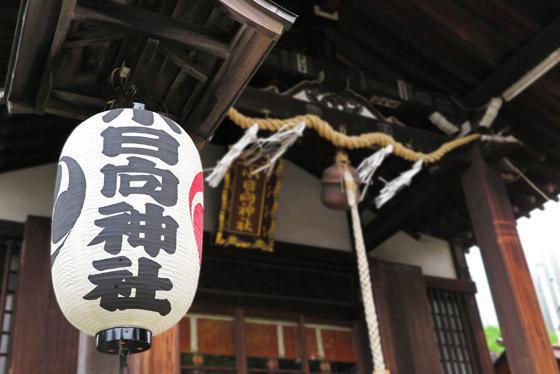 小日向神社の本殿