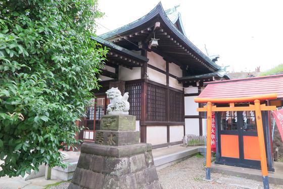 東京都小日向神社の写真