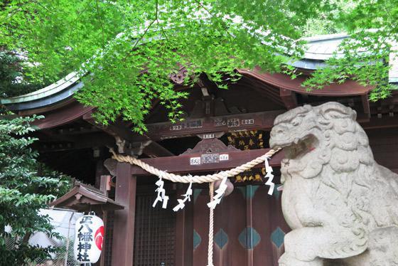 東京都正八幡神社の写真