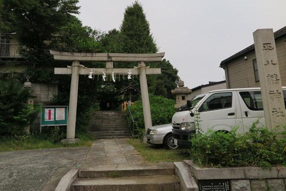 東京都正八幡神社の本殿