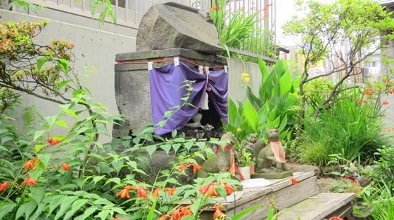 東京都田端八幡神社の写真