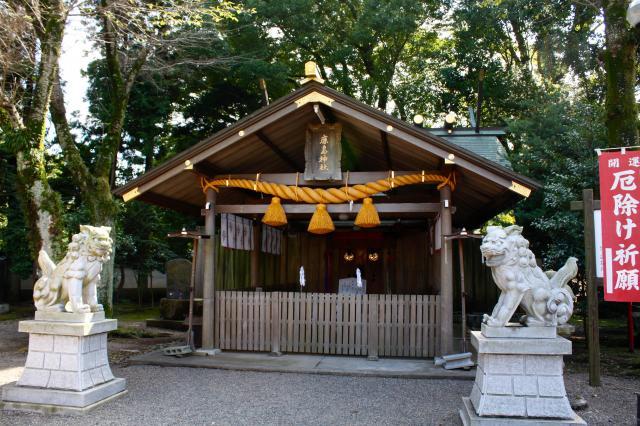 弘道館鹿島神社の本殿
