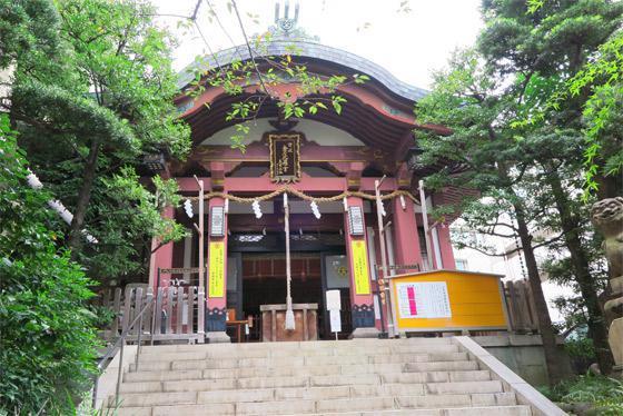 東京都金刀比羅神社の本殿