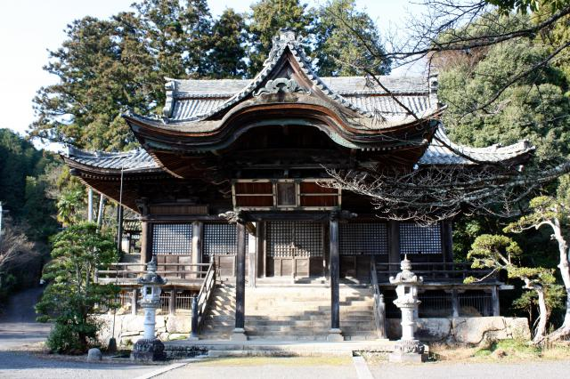 京都府圓隆寺の本殿