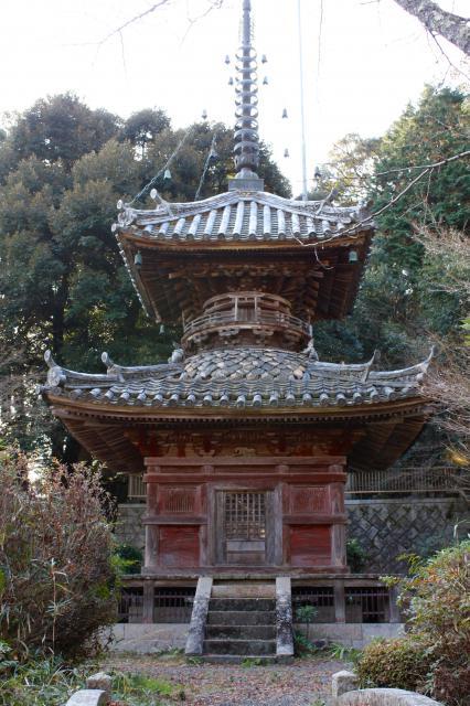 京都府圓隆寺の塔