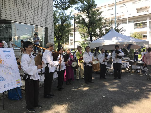 猿楽神社のお祭り