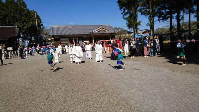 滋賀県高木神社のお祭り