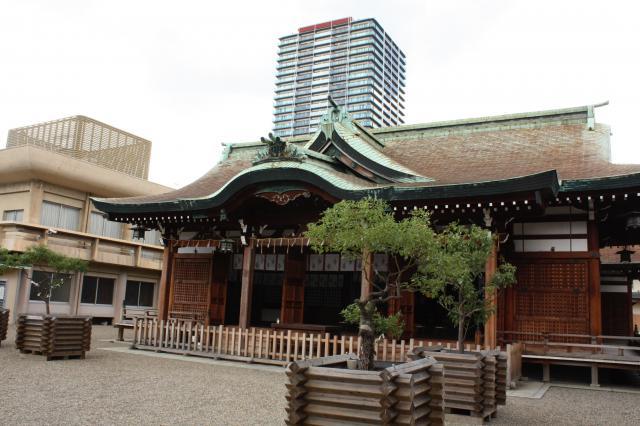 大阪府今宮戎神社の本殿