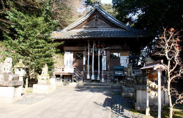 京都府朝代神社の本殿