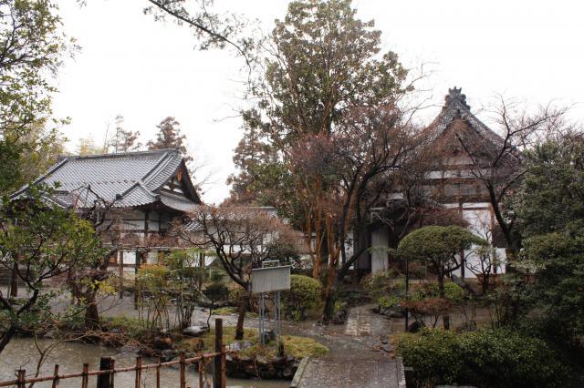 古長禅寺の庭園