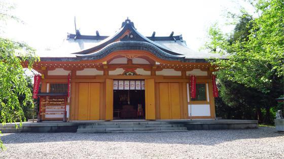 富山県豊栄稲荷神社の本殿