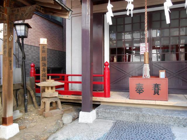 五柱稲荷神社の本殿