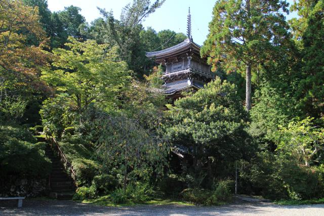 如意寺の塔