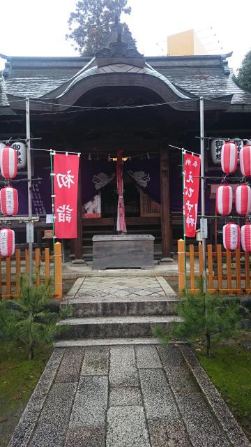 滋賀県市神神社の本殿