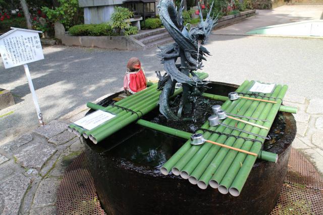 成相寺の手水