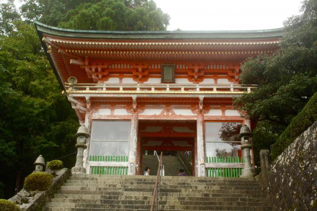 和歌山県青岸渡寺の山門