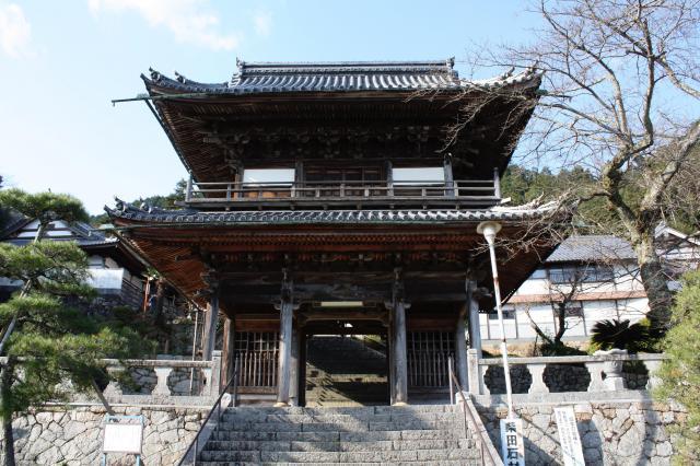 京都府桂林寺の山門