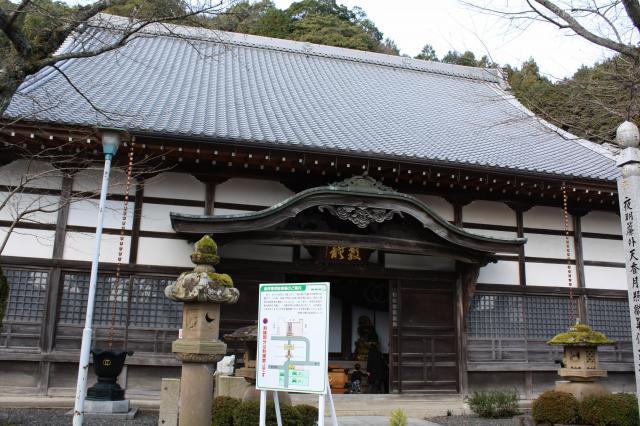 京都府桂林寺の本殿