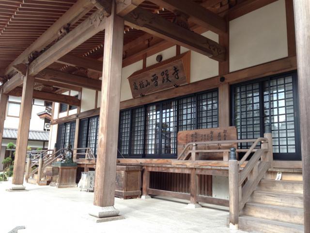 高知県雪蹊寺の本殿