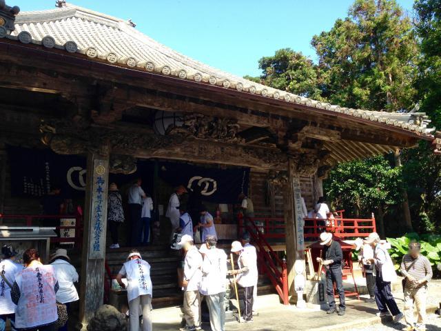 高知県最御崎寺の本殿