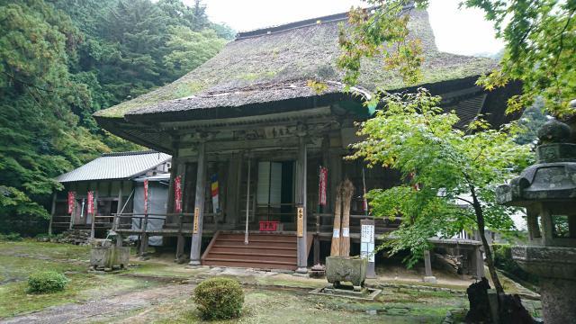 滋賀県瓦屋寺の本殿