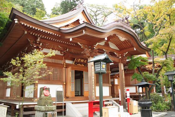 東京都金剛寺(高幡不動尊)の本殿