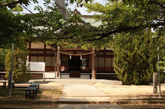岡山県玉井宮東照宮の本殿