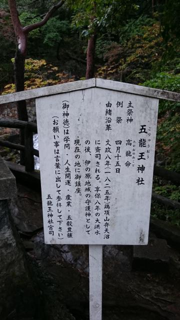 栃木県五龍王神社の歴史