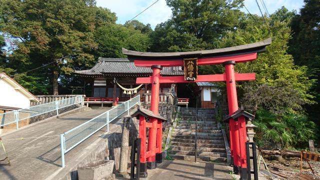 山八幡神社の鳥居