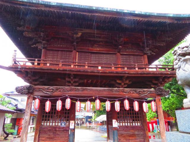穴切大神社の狛犬
