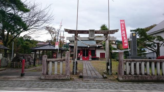 栃木県正一位稲荷神社の本殿