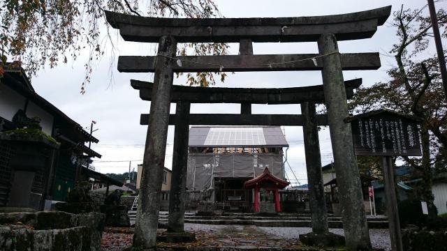 栃木県大杉神社の本殿