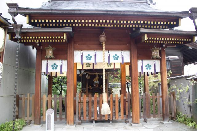 京都府火除天満宮の本殿