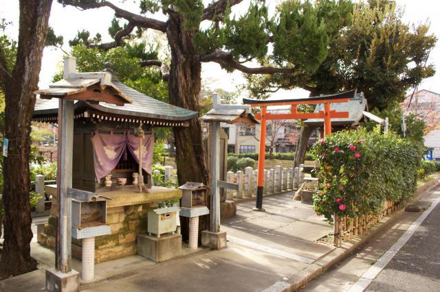 京都府鵺大明神の建物その他