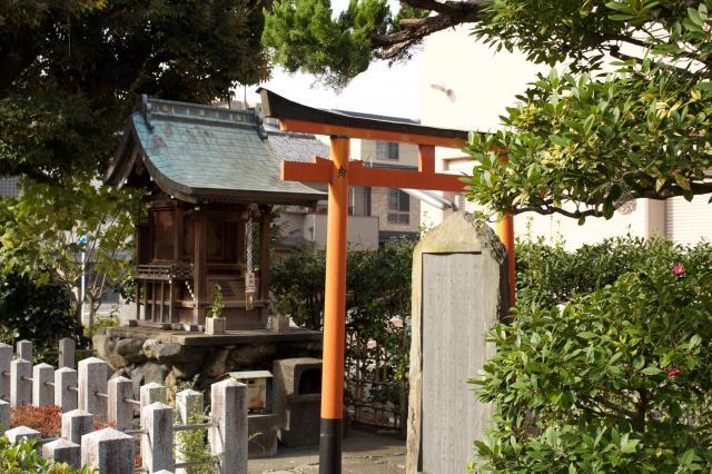 京都府鵺大明神の鳥居