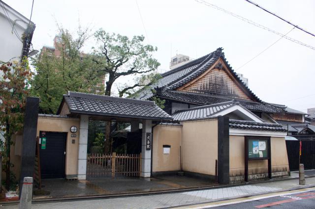 京都府大善院の山門