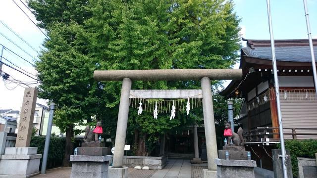 飛木稲荷神社(東京都曳舟駅) - 鳥居の写真