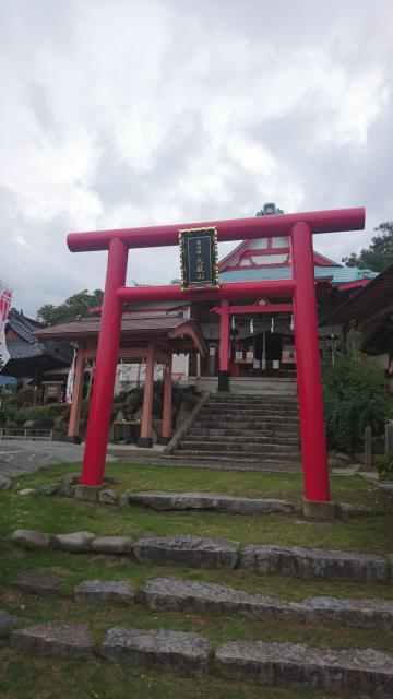 差出磯大嶽山神社の鳥居