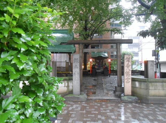 東京都銀杏八幡宮の本殿
