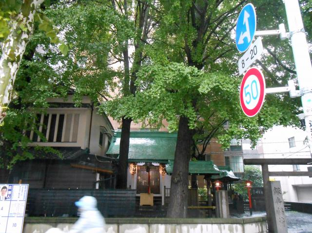 銀杏八幡宮(東京都水天宮前駅) - 周辺の写真