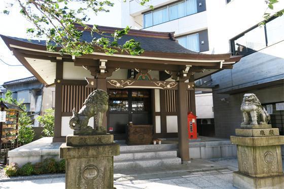 東京都大國神社の本殿