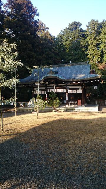 滋賀県押立神社の建物その他