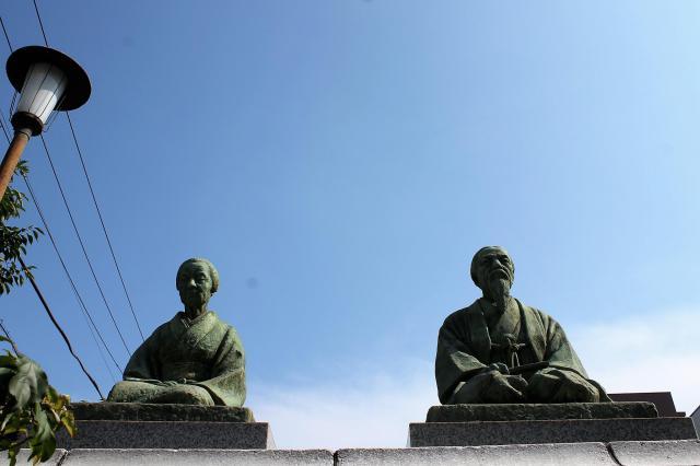 東禅寺の像